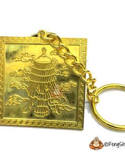 Golden Chi Lin Talisman