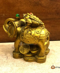 3 Legged Frog on Wish Fulfilling Elephant