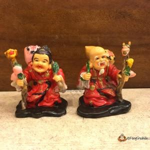 Sau Seng Kong and Sau Seng Poh are potent symbols of long life