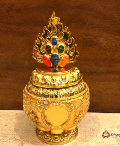 Eight Auspicious Symbols Feng Shui Wealth Vase