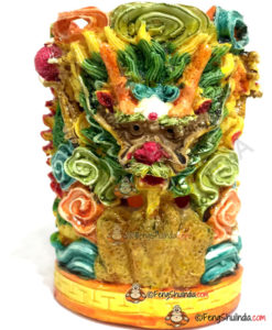 Feng Shui Dragon Pen Stand