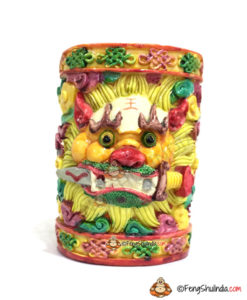 Feng Shui Fu Dog Pen Holder