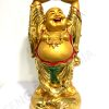 Laughing Buddha Lifting A Huge Ingot