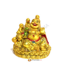 Laughing Buddha with Children