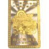 Laughing Buddha good luck Card with Children for Descendant Luck