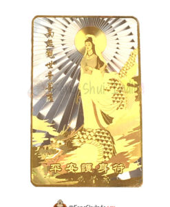 Mother Kuan Yin on Dragon Talisman Card