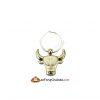 Feng Shui Bull Keychain
