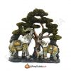 Feng Shui Elephant Family