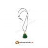 Green Jade Laughing Buddha Pendant