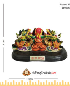 Feng Shui Dragon Card Holder