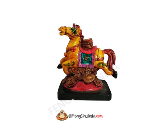 Feng Shui Horse With Coins