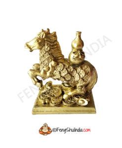 Feng Shui Horse With Wo Lou
