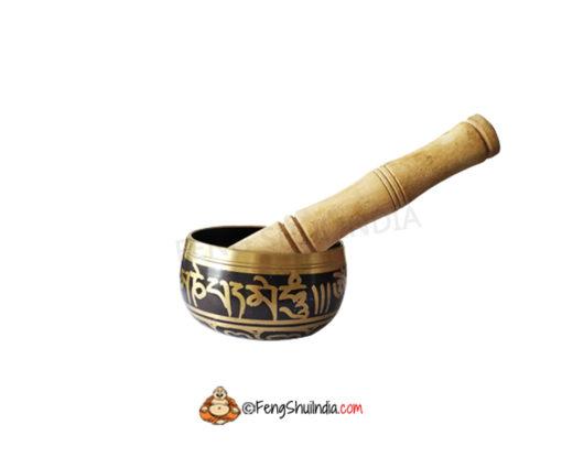 Feng Shui Antique Brass Singing Bowl Big