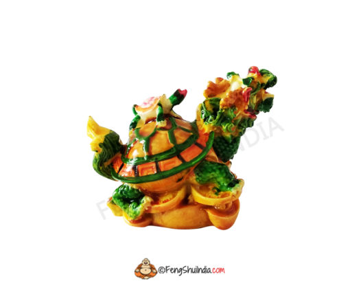 Dragon Tortoise with Turtle on Back